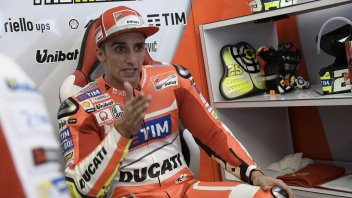 Iannone: regrets? full support from Ducati through Valencia