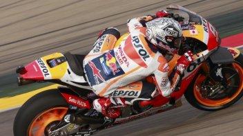 FP2, Aragon, Pedrosa, Marquez, Crutchlow: la Honda cala il tris