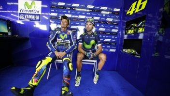 Rossi e Lorenzo spostano la sfida in bicicletta