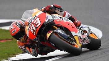 "Marquez: ""I've already decided on the race tyres"""