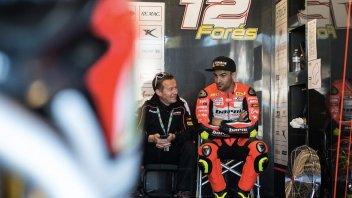 Broken foot for Baz, Forés to ride at Misano
