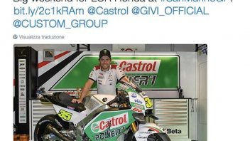 LCR with Castrol: Crutchlow dresses in green in Misano