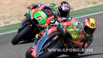 "Aprilia in front of the Ducatis: ""We're enjoying a positive phase"""