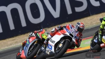 Dovizioso and Pirro in chorus: the tyres conditioned the result
