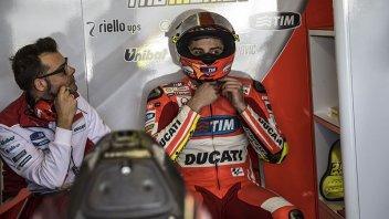 Test Qatar: Iannone 1°, caduta per Rossi