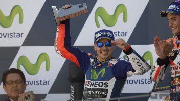 Lorenzo: on the podium thanks to... a crash