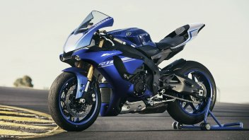 Yamaha YZF-R1 e YZF-R1M: le nuove livree 2017