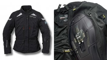BMW lancia l'Airbag Jacket Street Air Dry by Alpinestars
