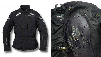 Moto - News: BMW lancia l'Airbag Jacket Street Air Dry by Alpinestars