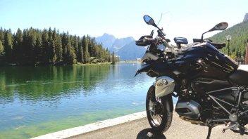 Mototurismo: le Dolomiti con la BMW R 1200 GS Triple Black