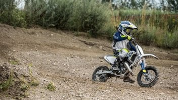 Husqvarna Motorcycles: TC 50 e TC 65 2017