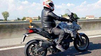 Ducati Multistrada 939: ecco la foto spia!
