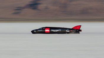 Triumph Infor Rocket: incidente non grave, Martin illeso!