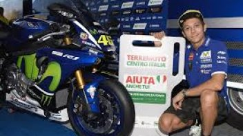 MotoGP mementoes up for auction for earthquake victims