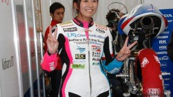 Moto3 in rosa: Okazaki wild card a Motegi