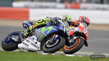Marquez: my battle with Rossi is only on the track