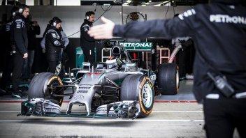 Lorenzo e Mercedes, primo contatto a Silverstone