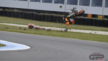 """Marquez: """"La caduta? Sono umano, non una macchina"""""""