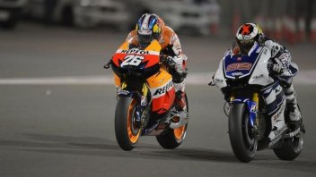 Jorge Lorenzo chasing the podium...of the podiums of all time