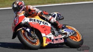 Marquez: il mio obiettivo è il podio, non la vittoria
