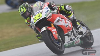 Crutchlow: no point risking. I want to finish the season in one piece