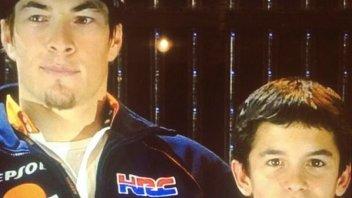 Marquez e Hayden insieme... già 8 anni fa