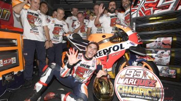 Marquez World Champion in Motegi: the best shots
