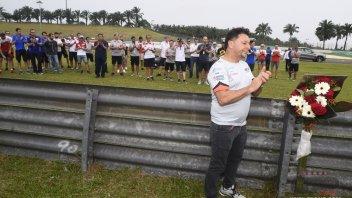 Il paddock ricorda Marco Simoncelli a Sepang