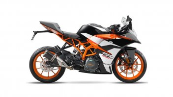 KTM RC 390, 200 and 125 m.y. 2017