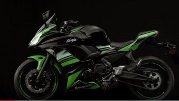 Kawasaki, l'altro volto Ninja: si aggiorna la 650e 650ABS