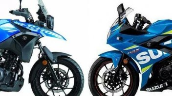 Suzuki all'attacco delle piccole: GSX-R e V-Strom 250