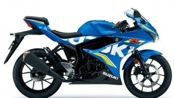 "Suzuki svela la""Gixxer"" per i sedicenni: GSX-R125"