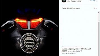 """MV Agusta: il """"lato B"""" della nuova F4 RC"""