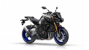 Yamaha, svelata la MT-10 in versione SP