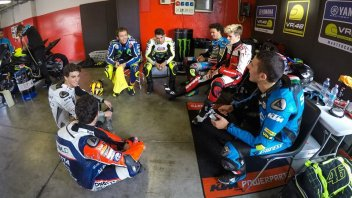 "The guys from... 46: ""Rossi's secrets? We talk about girls too!"""