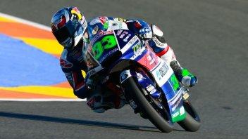Valencia, Moto3: Bastianini leader del venerdì