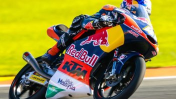 Valencia, Moto3: warm up nel segno di Binder