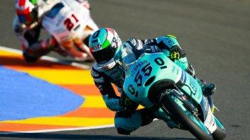Valencia, Moto3: Locatelli va all'attacco