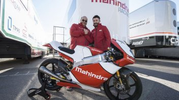 Biaggi, a Mahindra ambassador and CIV team manager