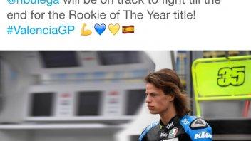 Bulega a Valencia per conquistare il 'Rookie of the Year'