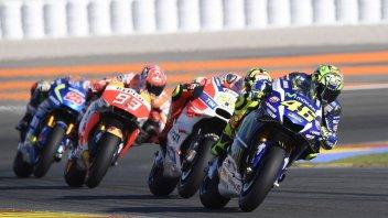 Su Sky la MotoGP a Valencia batte la F1 in Brasile