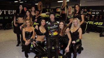 Valentino Rossi al Monza Rally Show: vent'anni di traverso