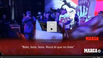 "Marquez, the celebration in Cervera: ""whoever doesn't jump is Rossi!"""