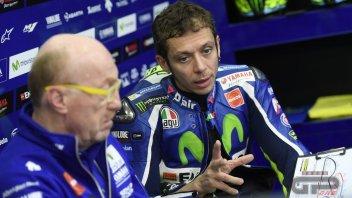 Rossi: the podium? I hope only I improve...