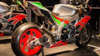 Aprilia RSV4-RR GP: Pneumatic valves and 250 HP