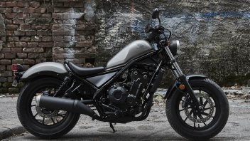 Honda CMX500 Rebel my17: la piccola anticonformista