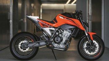 KTM 790 Duke Prototype – il concept... in arancione
