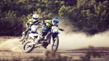 Yamaha: in test le moto da Enduro 2017