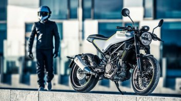 Husqvarna Vitpilen 401: il video