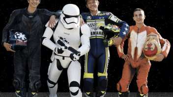 Rossi Maestro Jedi per i piloti della Vr46 Academy